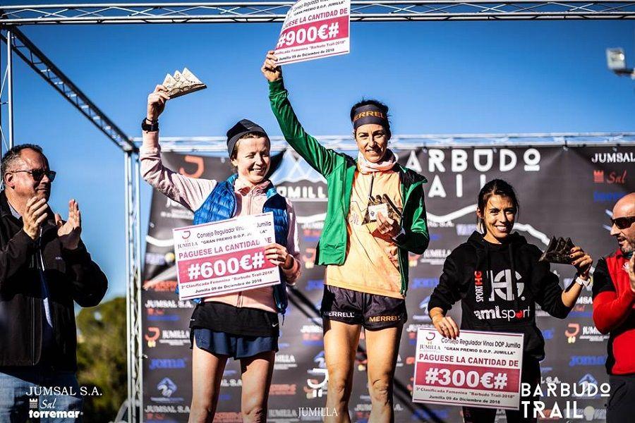 Gemma Arenas: 3ª en Barbudo Trail 24h después de ser Sub-Campeona de España de Trail Running