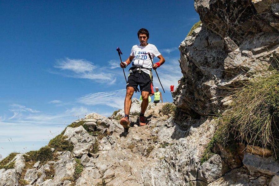 Manuel Merillas consigue bajar 1000 metros de desnivel en 9'34'', el tiempo más rápido conocido