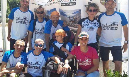 Cazarettos gana el 'Trail pour tous', carrera específica de sillas de montaña en Francia