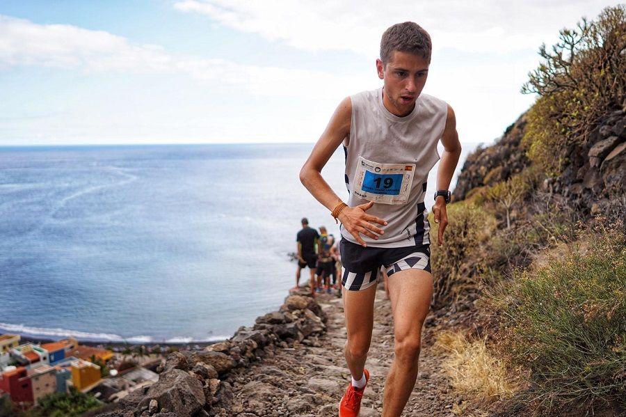 Daniel Osanz 'dinamita' el Kilómetro Vertical de Transvulcania