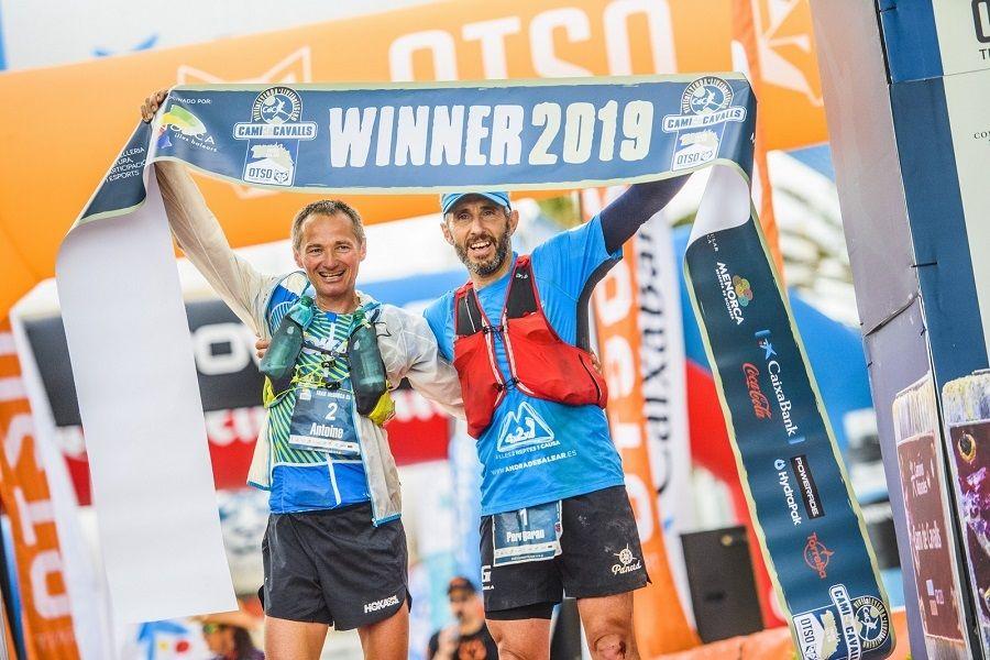 Antoine Guillon y Pere Garau ganadores ex –aequo del Trail Menorca Camí de Cavalls