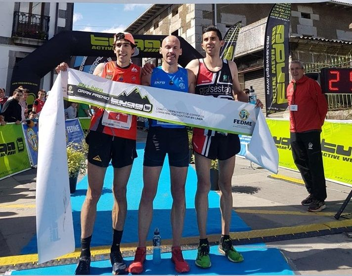 Oier Ariznabarreta y Ainhoa Sanz se proclaman mejores 'corremontes' de España en el Trail Rae Otañes