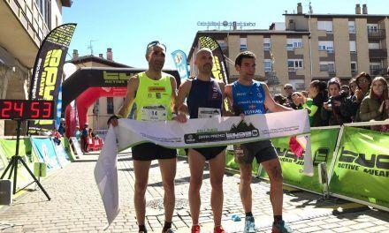 Oier Ariznavarreta y Maite Etxerrazeta conquistan con récord la Kanpezu Ioar