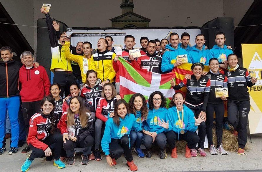 Sestao Alpino-Grafsestao y el AE Matxacuca se llevan el Campeonato de España del Kilometro Vertical para Clubes FEDME