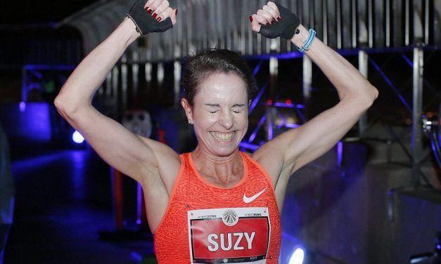 Suzy Walsham consigue el récord en la Subida al Gran Hotel Bali, 5'31'' para 924 escalones.