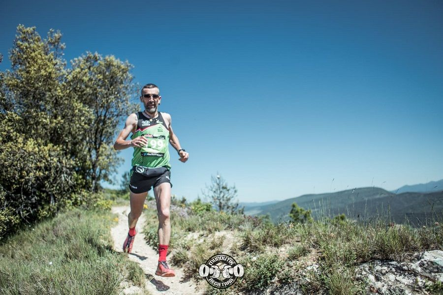 Jonatan Tejeda y María Iraizoz protagonistas del Maratón BHZ Mendi Trail
