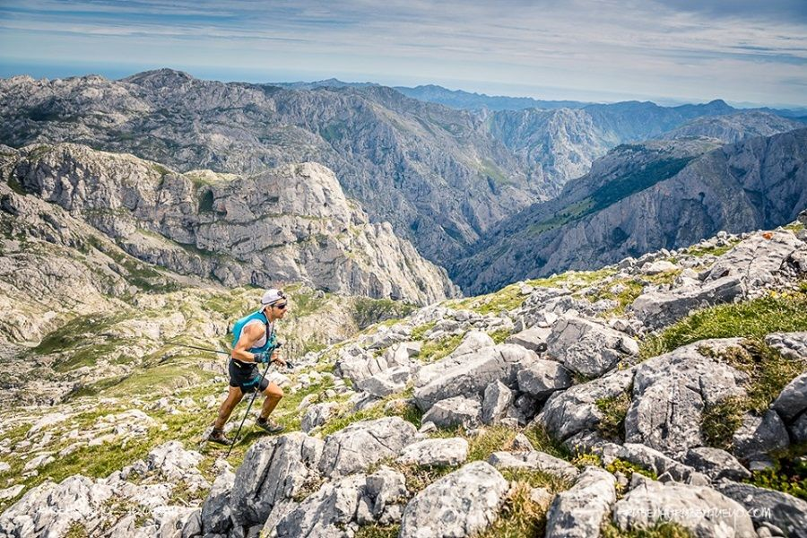 Pablo Baisón y Sara Pérez hacen suy@ un Gran Trail Picos de Europa 'durísimo'