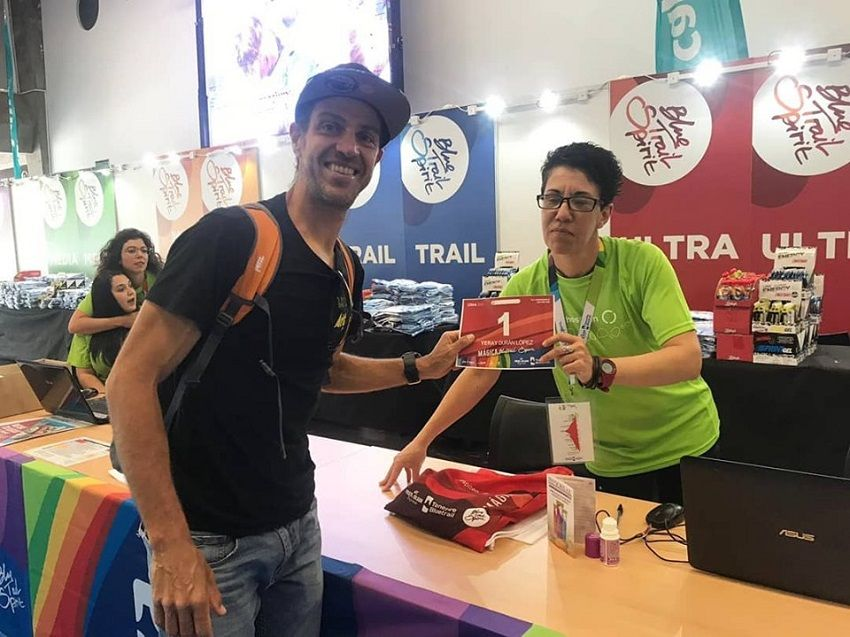Yeray Durán y Leire Martínez, los favoritos de La Tenerife Bluetrail