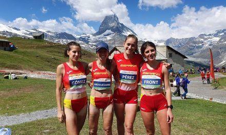 España cumple con el expediente con una buena actuación en el Campeonato de Europa de Carreras de Montaña