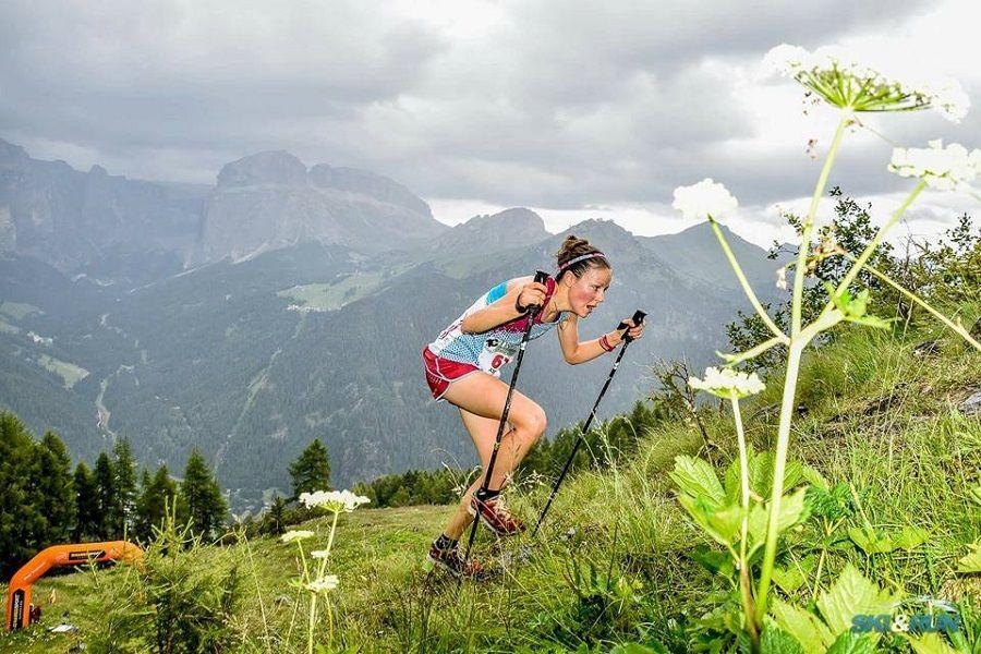Axelle Mollaret establece un nuevo récord del Kilómetro Vertical: 34min 01seg