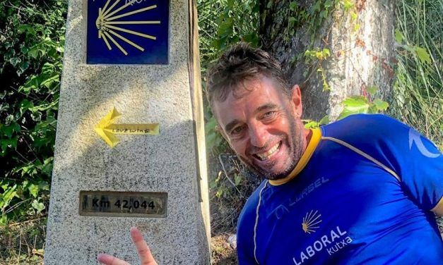 """Riki Abad: """"Vuelvo al Camino de Santiago para sentirme de nuevo corredor"""""""