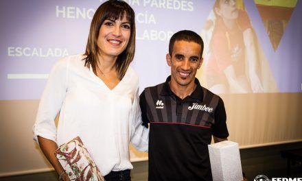 Sandra Sevillano y Zaid Ait Malek Oulkis premiados por la FEDME