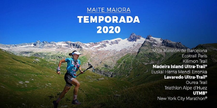 El reto de Maite Maiora: 910km y más de 43.000+ en su calendario 2020