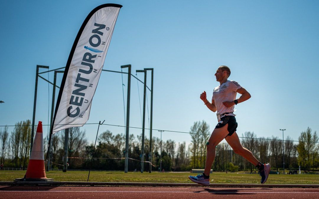 Aleksandr Sorokin nuevo récord del mundo  de 100 millas corriendo a  4'11''/km